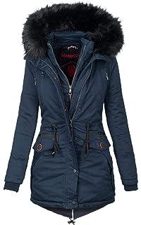 Warme Mantel Parka Damen Winter Marikoo Jacke Winterjacke c5jAL4S3Rq