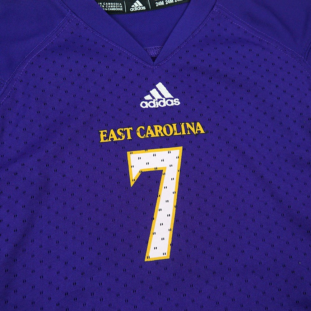3a543c2e9 Amazon.com   adidas East Carolina Pirates NCAA Purple Official Home  7 Replica  Football Jersey For Infant (24M)   Sports   Outdoors