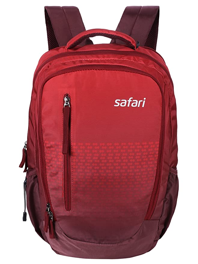 Safari 28 Ltrs Red Laptop Backpack  Ombre Red  Laptop Backpacks