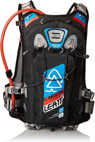 Leatt DBX Enduro Hydration Bag Unisex Adult, Black Blue Orange