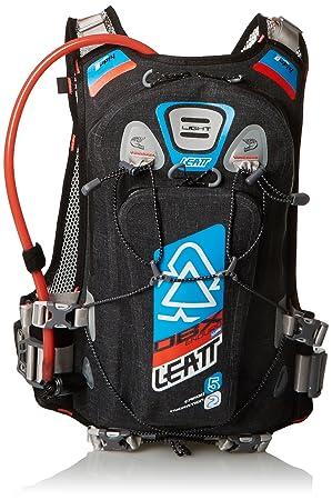 Leatt DBX Enduro Mochila de hidratación Unisex, Color Negro/Azul/Naranja: Amazon.es: Deportes y aire libre