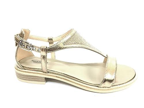 NeroGiardini 17720 SABBIA Scarpa donna sandalo Nero Giardini pelle made in  italy
