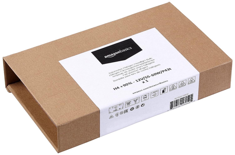 Pack of 2 - 12V//55W//P14.5s H1 90/% Basics Automotive Headlight Bulbs