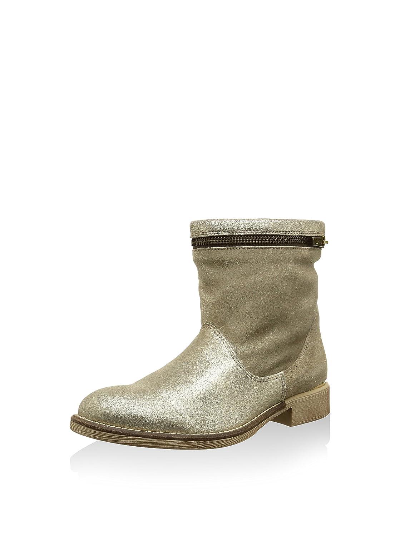 Guess Damen Stiefel Stiefeletten Stiefel Stiefel Stiefel Gold Platin 0f6731