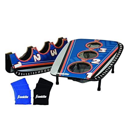 Amazon.com: Franklin Sports 3 Agujero Bean Bag Toss: Sports ...