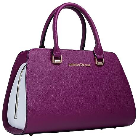c9958d6f728e Juliette Darras Insulated Lunch Bag - Elegant, Multifunctional Lunch Tote  Purse for Women (Fuchsia)