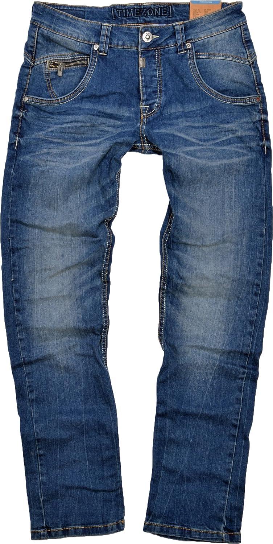 Timezone Herren Jeans Harold Blau (Fresh mid Blue wash 3076)