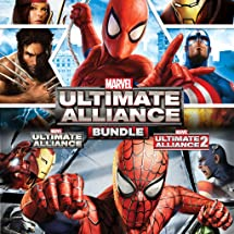 Amazon com: Marvel: Ultimate Alliance Bundle - PS4 [Digital Code