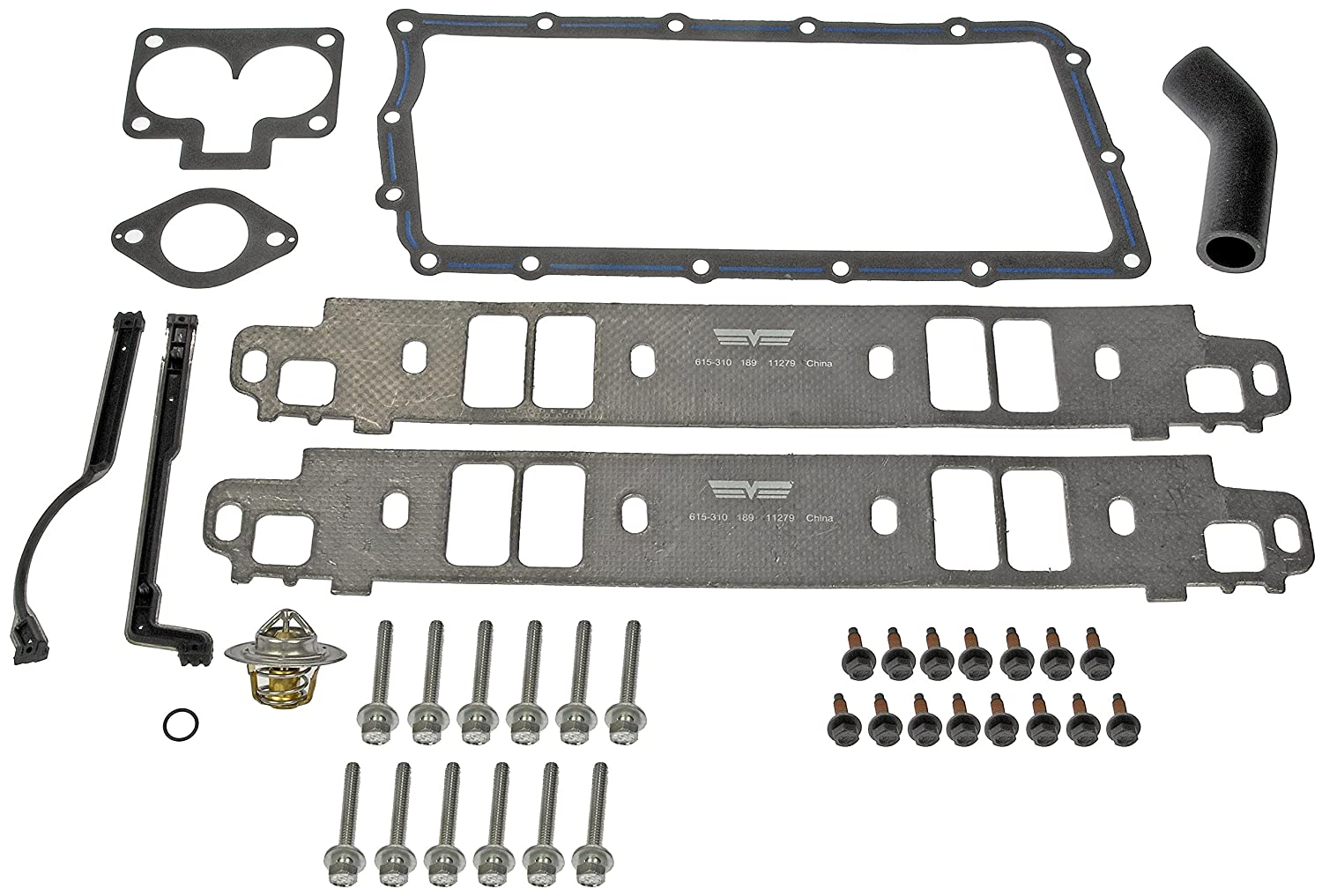 Dorman 615-310 Dodge Jeep Intake Manifold Gasket Kit Dorman - OE Solutions DOR615310