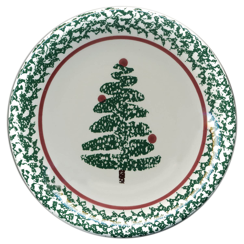 Furio Contemporaryカジュアル、4 Holidayクリスマスツリーサラダプレート   B007JAUMW0