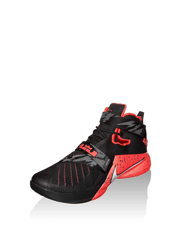 SchwarzRot Nike Herren Lebron Soldier Ix PRM