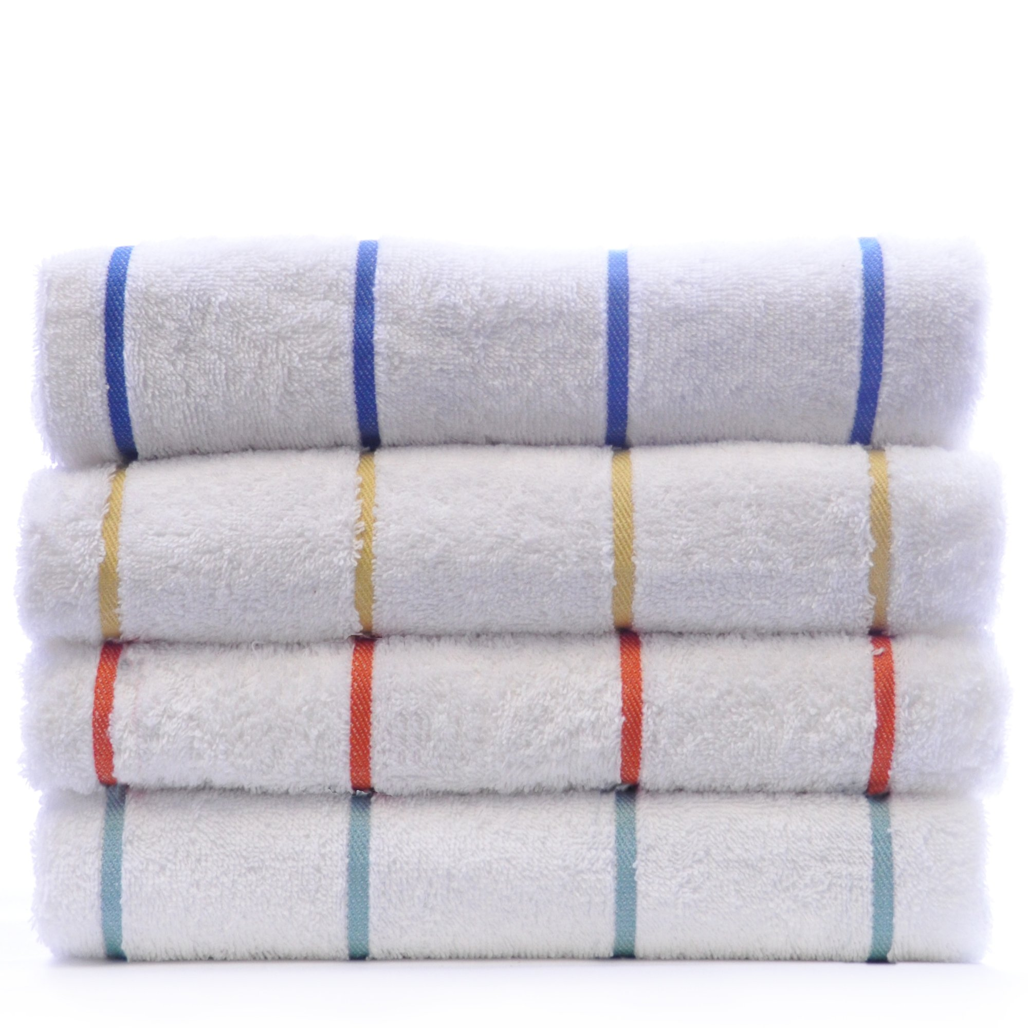 Luxury Hotel Towel Turkish Cotton Extra Large Pool-Beach Towel Set (Set of 4, Variety Pack) by Chakir Turkish Linens