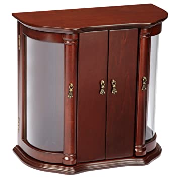 Amazoncom Josephine Jewelry Box in Antique Mahogany Finish by