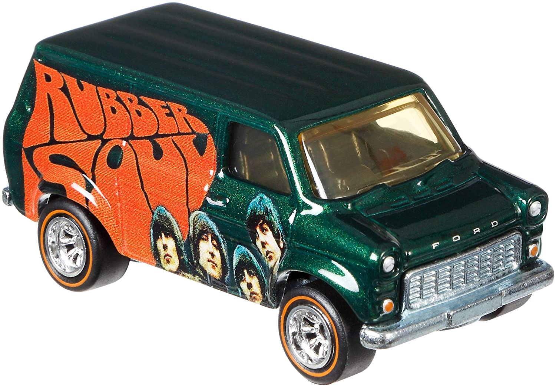 Hot Wheels The Beatles Ford Transit Supervan Vehicle