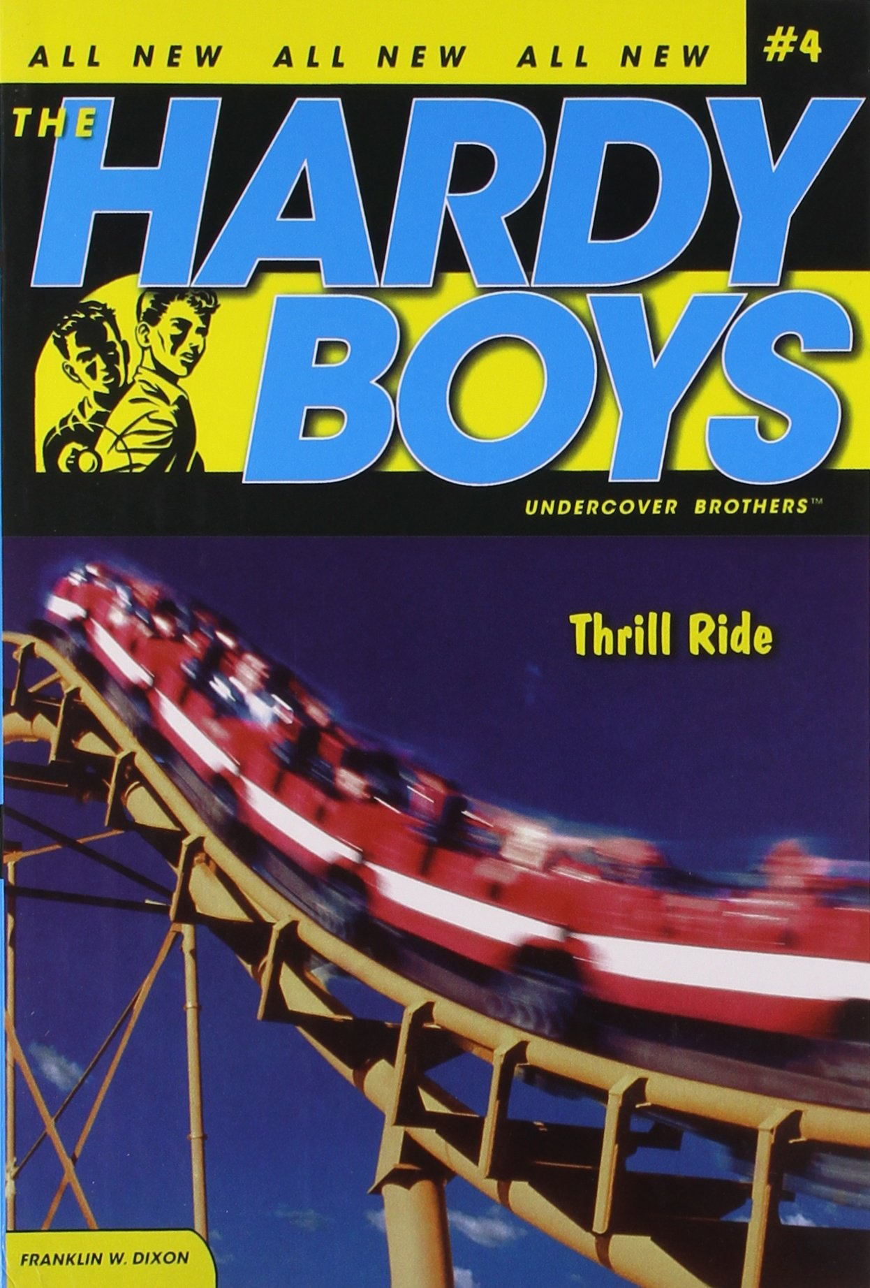 Thrill Ride (Hardy Boys: Undercover Brothers, No. 4) ebook