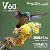 SD Card V60 (128GB) -Up to 130MB/s Write Speed and