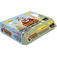 CQ Games PVC Bingo on the Go Road Travel Game Medium (CQK_GM_001)