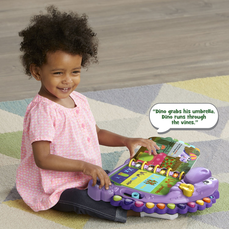 LeapFrog Dino's Delightful Day Alphabet Book, Purple (Amazon Exclusive) by LeapFrog (Image #5)