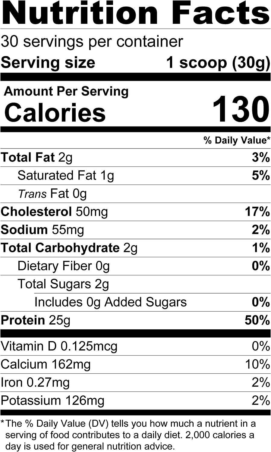 TGS Nutrition 100% Whey Protein, Natural Unflavored, 2 Pound by TGS Nutrition