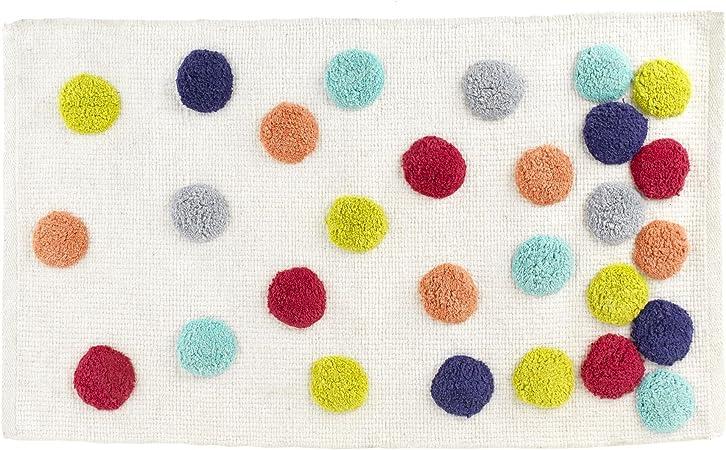 Alinéa Confetti Tapis de Bain Multicolore 80.0x50.0.: Amazon ...