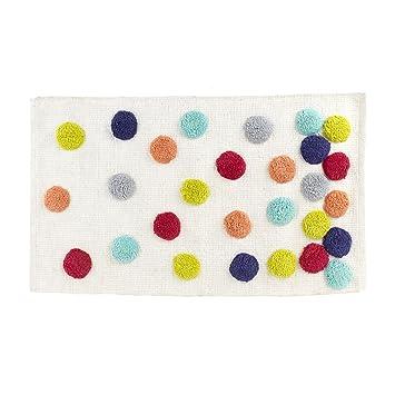 Confetti Tapis De Bain Multicolore Alinea 80 0x50 0 Amazon Fr