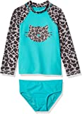Amazon Brand - Spotted Zebra Girls Tankini Rashguard Swimsuit Sets