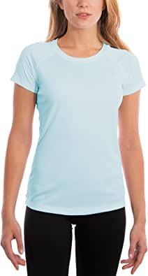 Vapor Apparel Women's Made in USA UPF 50+ UV/Sun Protection Short Sleeve T-Shirt