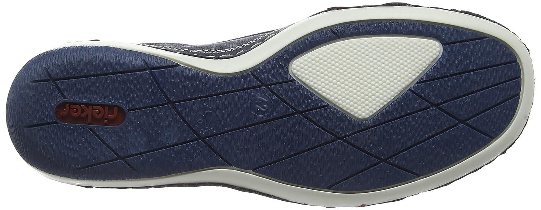 Rieker Herren B9251 47) Slipper Blau (Rauch/Denim/Denim / 47) B9251 1e1595