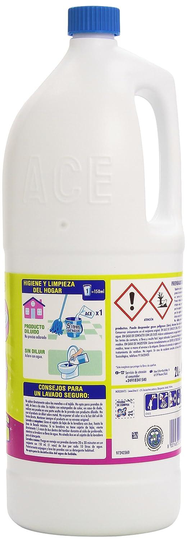 Ace Limón Limpiador para el Hogar 2 en 1 con Lejía y Detergente - 2 l: Amazon.es: Amazon Pantry