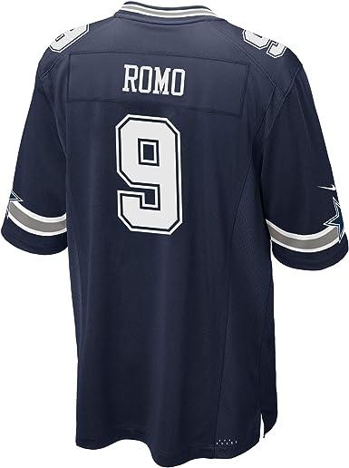 Dallas Cowboys Mens NFL Nike Game Jersey, Tony Romo, XX-Large, Navy