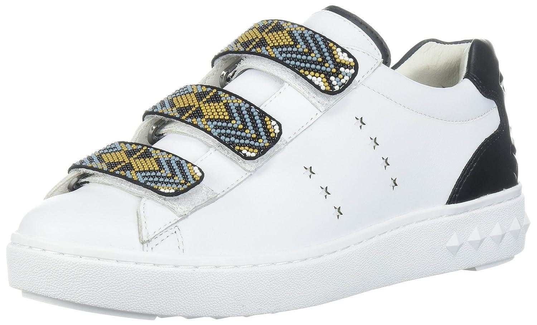 Ash Women's As-Pharell Sneaker B073JXV6KP 35 M EU (5 US) White/Black