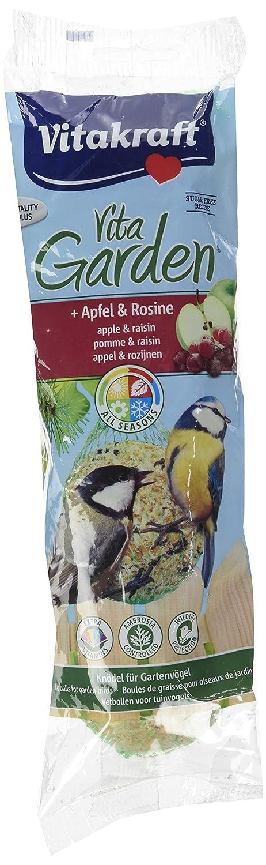 Vitakraft Boules de Graisses Premium Pomme/Raisin pour Oiseau du Ciel 350 g - Lot de 6 4008239308948