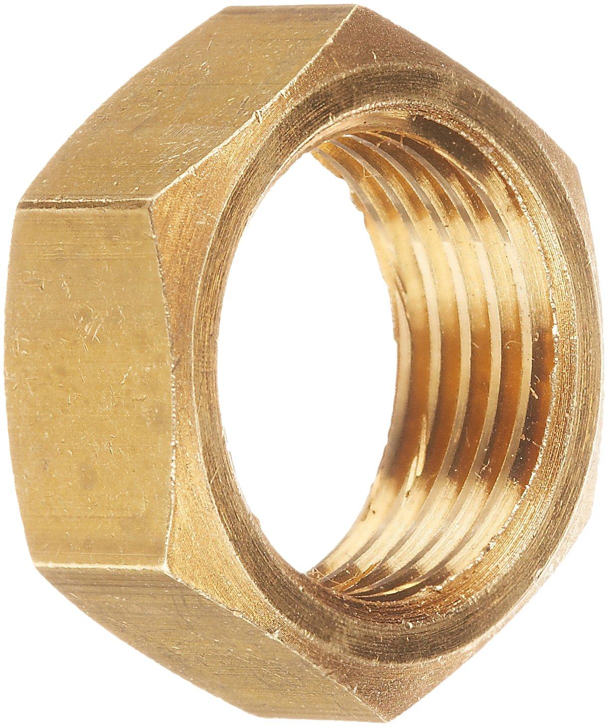 5//16 Tube OD CA360 Brass EATON Weatherhead 0102X5 Bulkhead Nut