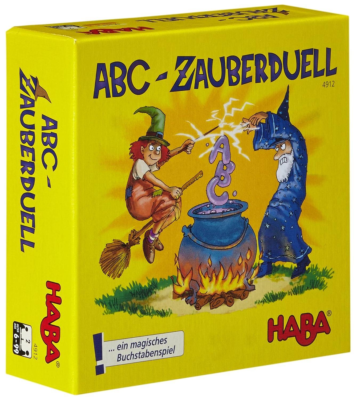 HABA 4912 ABC en alem/án Juego Educativo con Letras