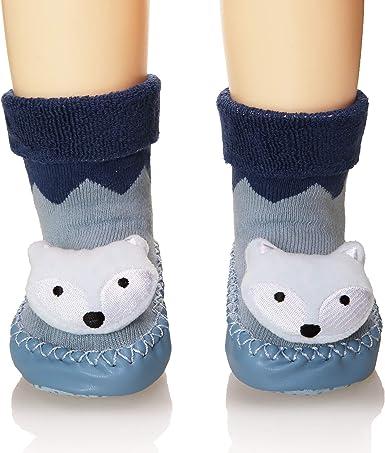 Four 5 Pairs Baby Cartoon Animal Short Flexible Socks Boys Girls Cotton Print Warm Soft Socks