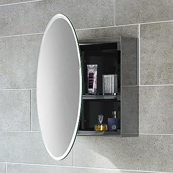Amazon.de: soak Moderner Spiegelschrank aus Edelstahl für das ...