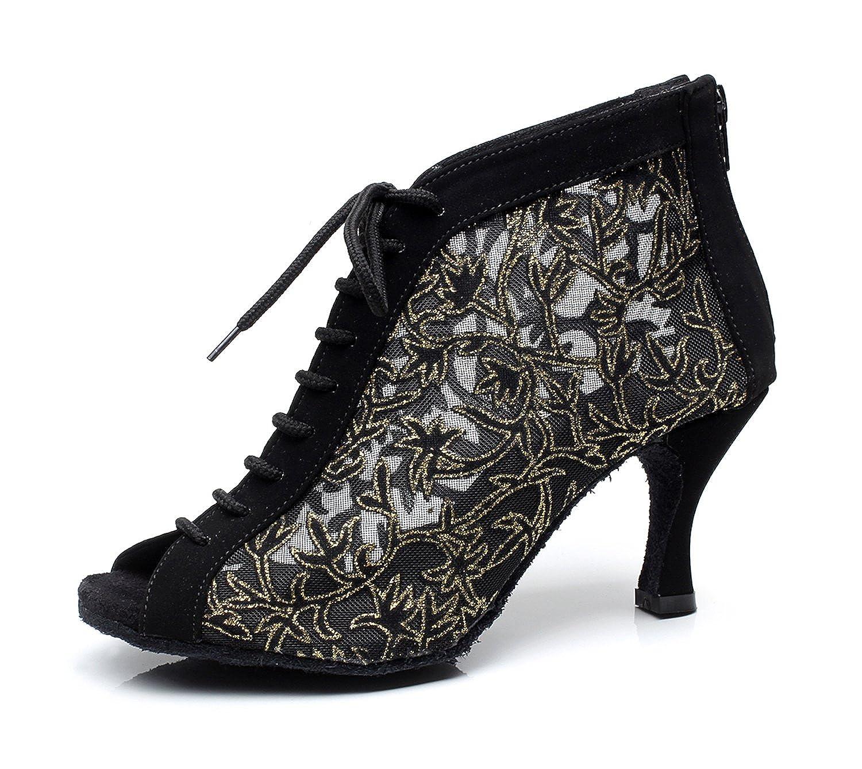 Chaussures à talons pour femmes - Avec fermeture éclair - Pour danse, fête de mariage, soirée - Minitoo