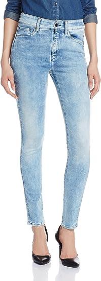 TALLA 25W / 32L. G-STAR RAW 3301 Ultra High Waist Super Skinny Jeans para Mujer