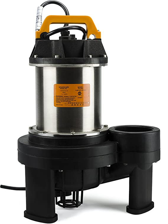 Amazon.com: Aquascape AquascapePRO Bomba sumergible para ...
