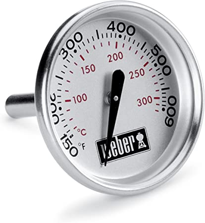 Amazon Com Weber 7581 Q Replacement Thermometer For Grills Grill Parts Garden Outdoor Weber 6750 instant read thermometer. weber 7581 q replacement thermometer for grills