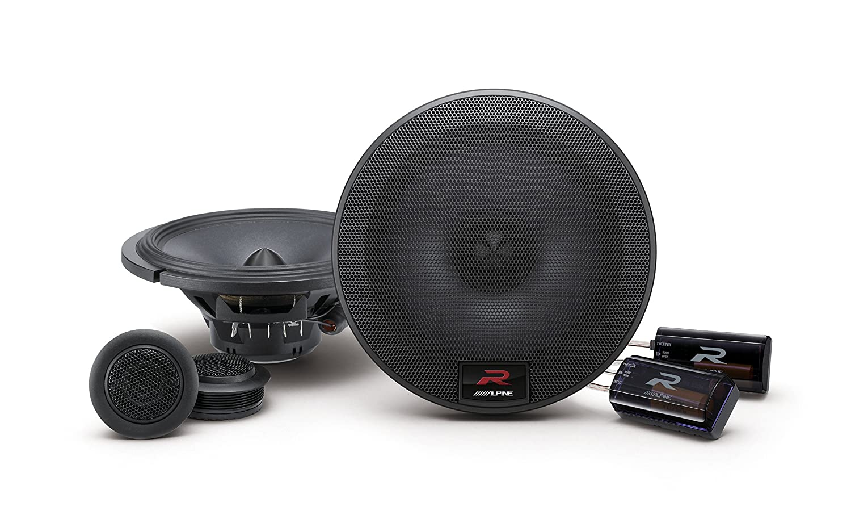 Two pairs of Alpine R-S65C 6.5 Inch Component 2-Way Speakers Alpine R-S65C Bundle