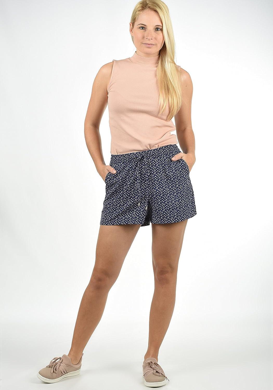 BlendShe Amal Short Chino Pantalon Court Bermuda pour Femme Coupe Relaxed