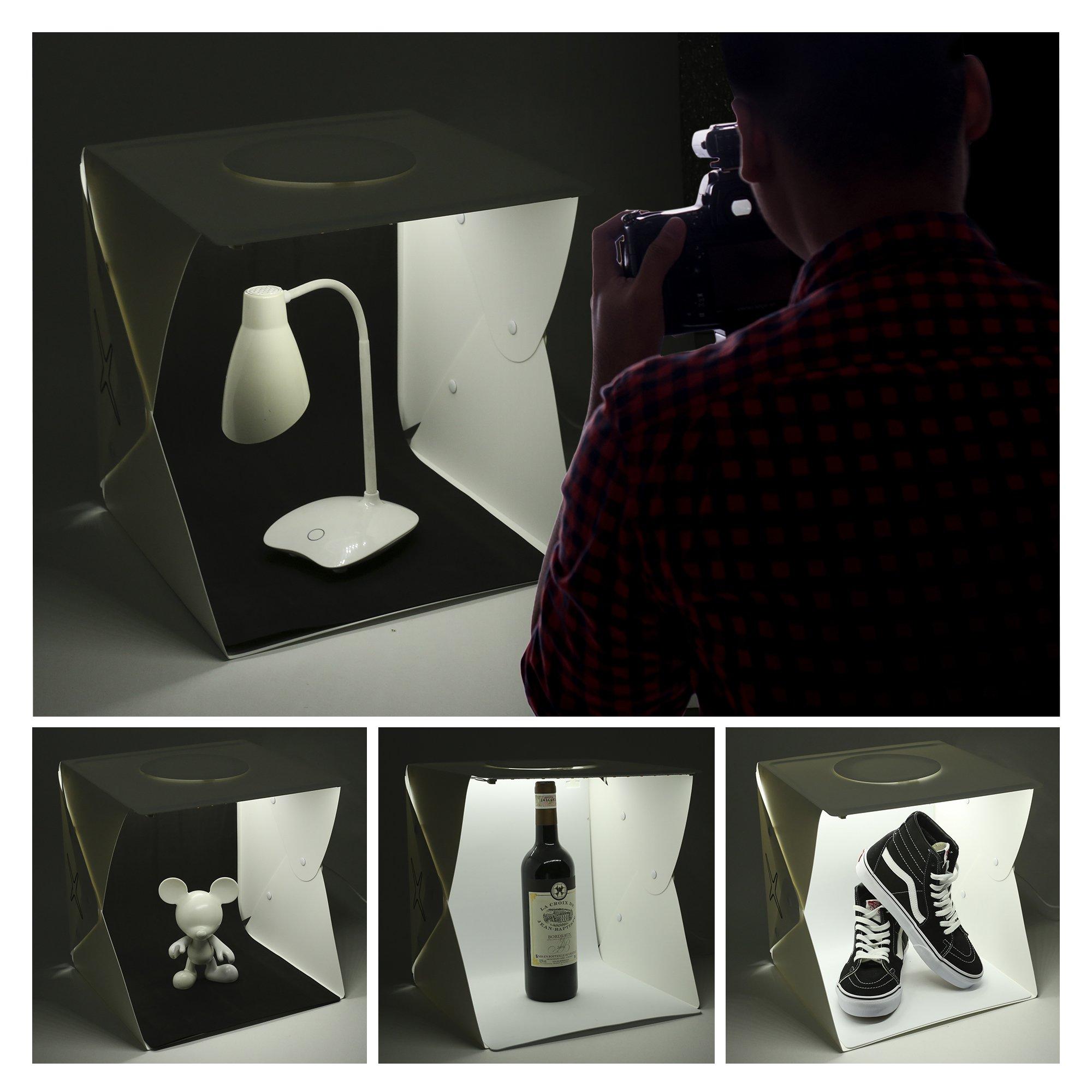 Capture Portable Photo Studio Box: LED Light Box Photo Tent- Large by Capture (Image #6)