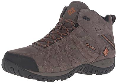 7f189ad94c3 Columbia Men s Redmond MID Leather Omni-TECH Hiking Boot Mud