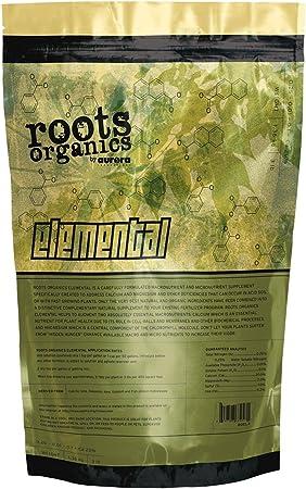 Roots Organics Elemental Supplement 20% Calcium 4% Magnesium Fertilizer, 3 lb.