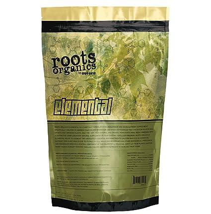 Raíces Organics Elemental Suplemento 20-percent 4-percent de calcio magnesio Fertilizante