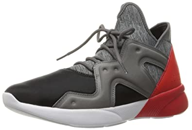 Reebok Women's Sayumi 2.0 Cross-Trainer Shoe, Black/Shark/Riot Red/
