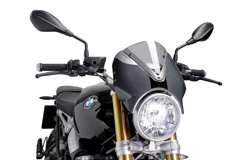 New Generation Kawasaki Z800 13-17 Puig 7559H Carbon Look WindShield