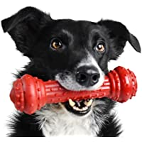 Pet Qwerks Bongo BarkBone Prime Rib Chew Toy - Tough Indestructible Extreme Power Chewer Bone, Designed for The Most…