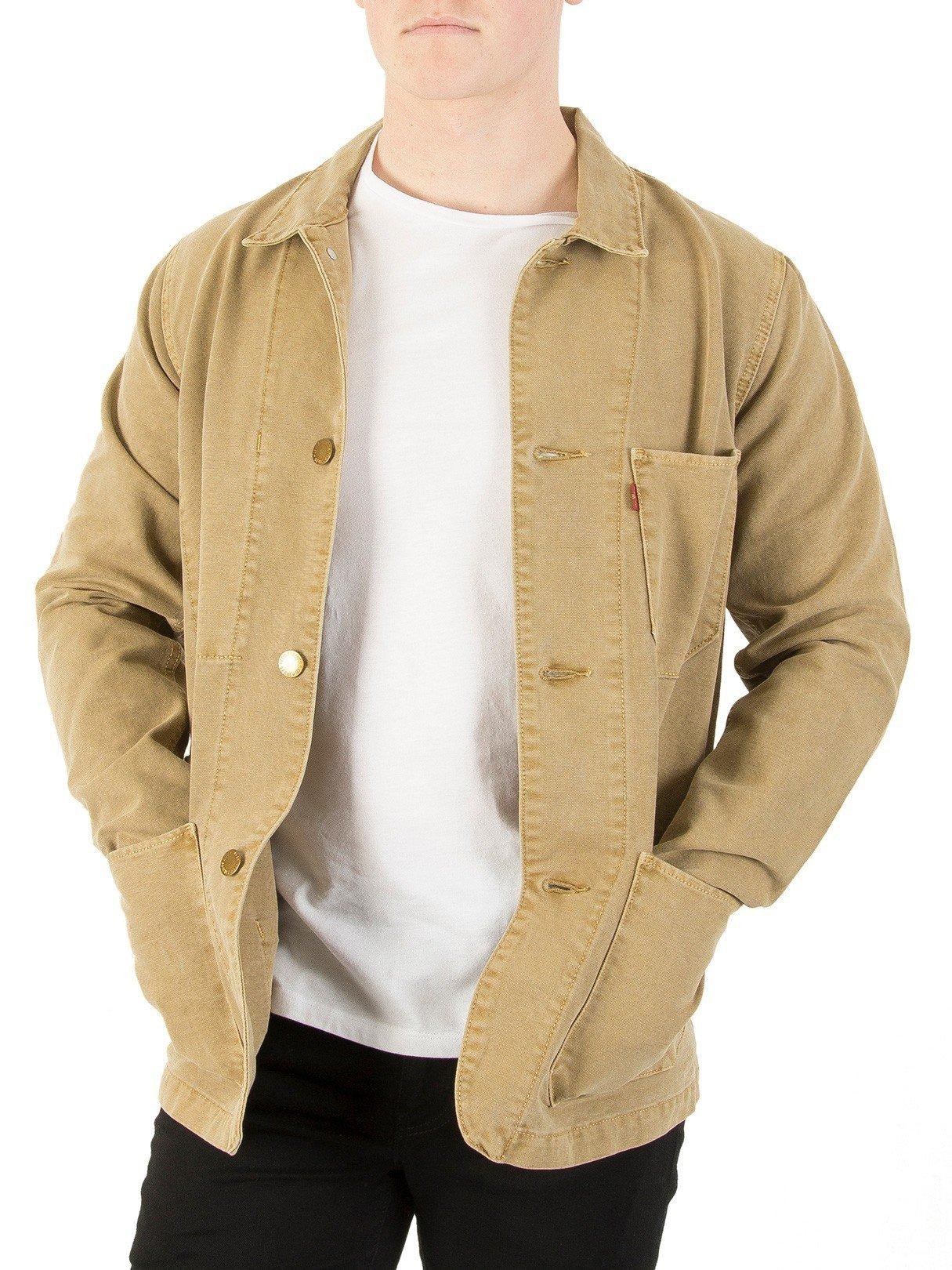 Levi's Levis Engineers Coat 20 Jacket Small Harvest Gold